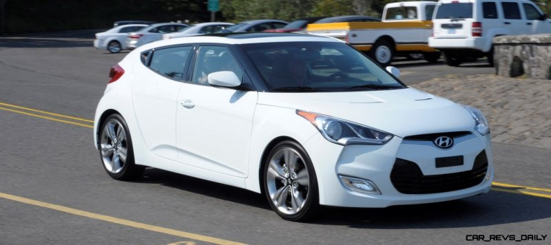 2014 Veloster R-Spec New for 2014 with Nurburgring Chassis Tech 18
