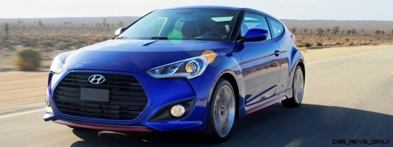 2014 Veloster R-Spec New for 2014 with Nurburgring Chassis Tech 28