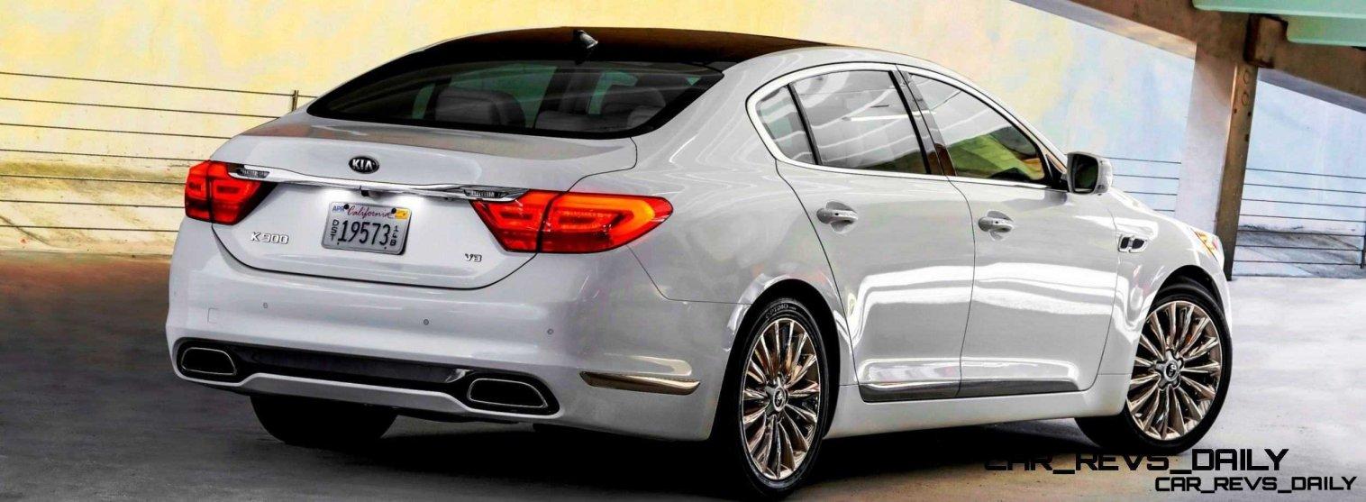 2015 K900 Kia New RWD Flagship 10