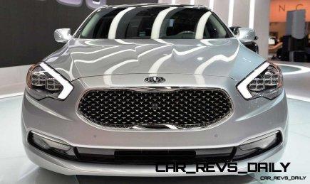 2015 K900 Kia New RWD Flagship 25