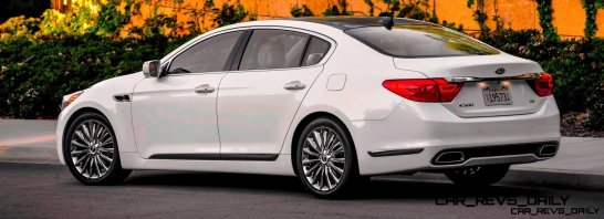 2015 K900 Kia New RWD Flagship 9
