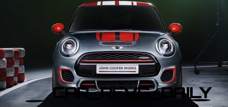 2015 MINI Cooper JCW Concept Brushed-Alloy Paints Hot Bod 5