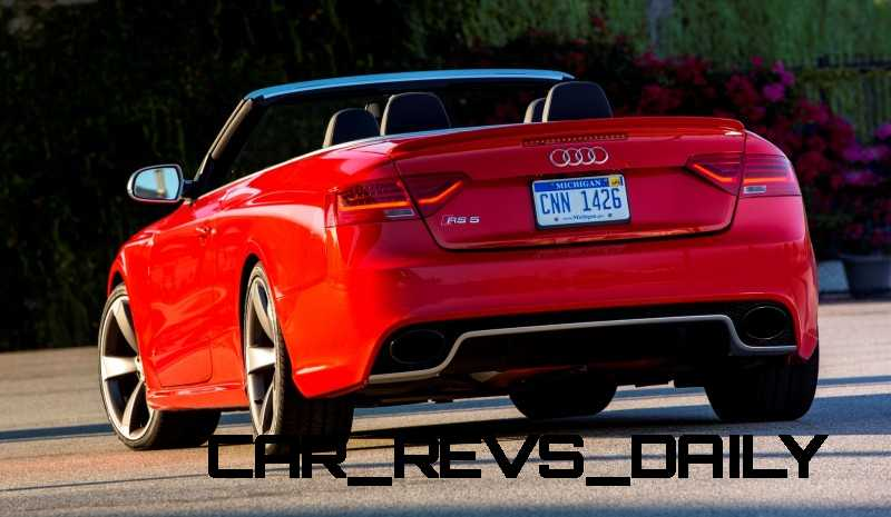 Buyers Guide to Audi RS5 Cabriolet for 2014 3