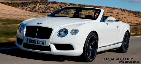 CarRevsDaily - 2014 Bentley Continental GTC V8 and V8 S 2