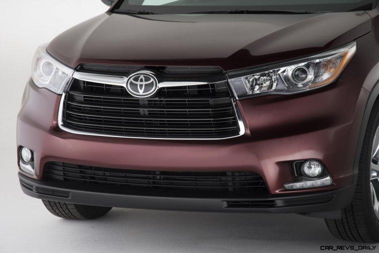 CarRevsDaily - 2014 Toyota Highlander Exterior Photo2