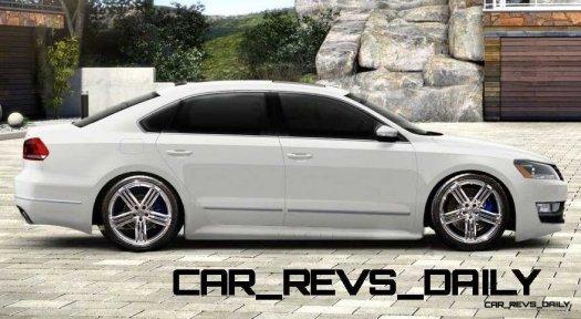 CarRevsDaily 2015 VW Passat R - Spec Renderings 1