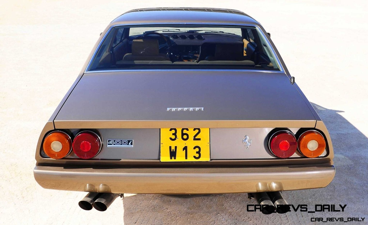 CarRevsDaily Chic Supercars - Ferrari 400i and 412i 54