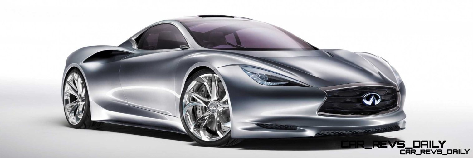 Infiniti Emerg-e Concept Makes North American Debut at 2012 Pebble Beach Concours d?Elegance