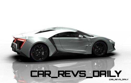 CarRevsDaily Supercars - 2014 W Motors Lykan Hypersport Colors 116