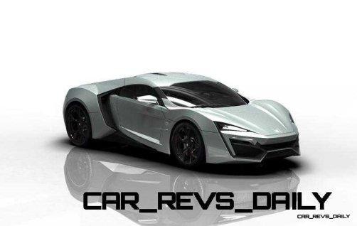 CarRevsDaily Supercars - 2014 W Motors Lykan Hypersport Colors 123