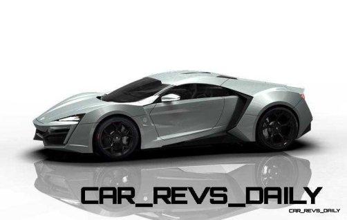 CarRevsDaily Supercars - 2014 W Motors Lykan Hypersport Colors 134