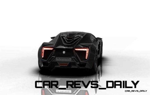 CarRevsDaily Supercars - 2014 W Motors Lykan Hypersport Colors 2