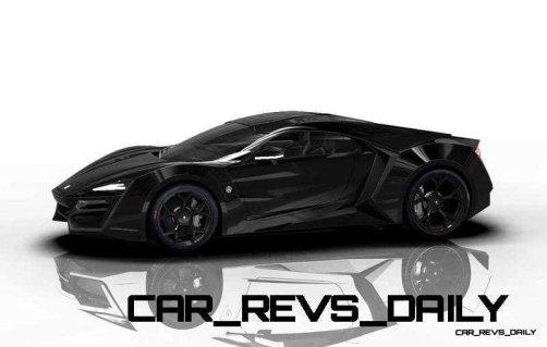 CarRevsDaily Supercars - 2014 W Motors Lykan Hypersport Colors 26
