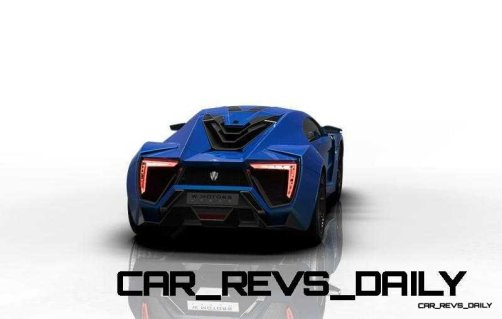 CarRevsDaily Supercars - 2014 W Motors Lykan Hypersport Colors 38