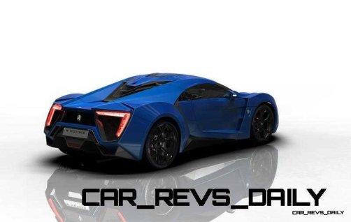 CarRevsDaily Supercars - 2014 W Motors Lykan Hypersport Colors 41