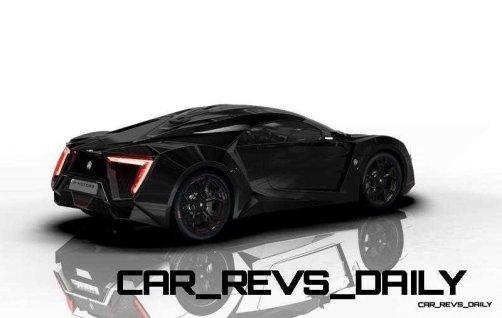 CarRevsDaily Supercars - 2014 W Motors Lykan Hypersport Colors 6