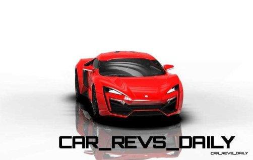CarRevsDaily Supercars - 2014 W Motors Lykan Hypersport Colors 90