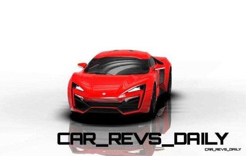 CarRevsDaily Supercars - 2014 W Motors Lykan Hypersport Colors 92