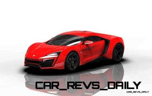 CarRevsDaily Supercars - 2014 W Motors Lykan Hypersport Colors 95