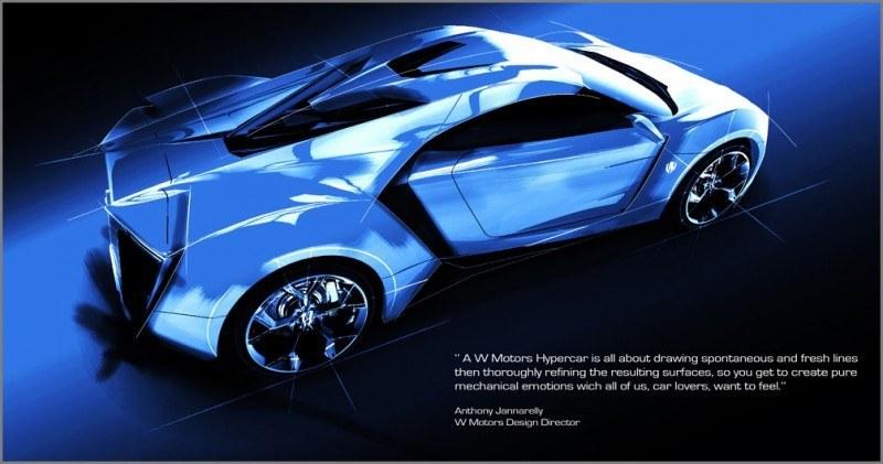 CarRevsDaily Supercars - Best of 2013 - W Motors Lykan HyperSport 1