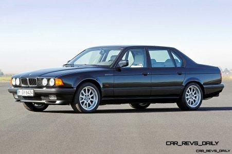 Celebrating the Evolution of the V12 BMW 7-series 26