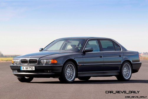 Celebrating the Evolution of the V12 BMW 7-series 37