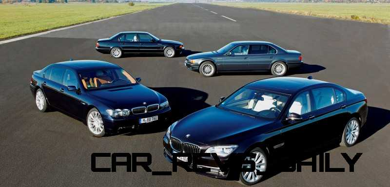 Celebrating the Evolution of the V12 BMW 7-series 70