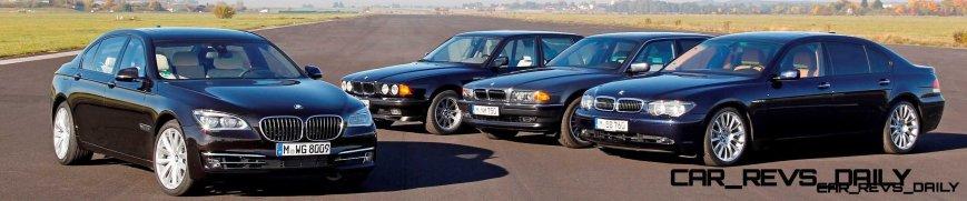 Celebrating the Evolution of the V12 BMW 7-series 71