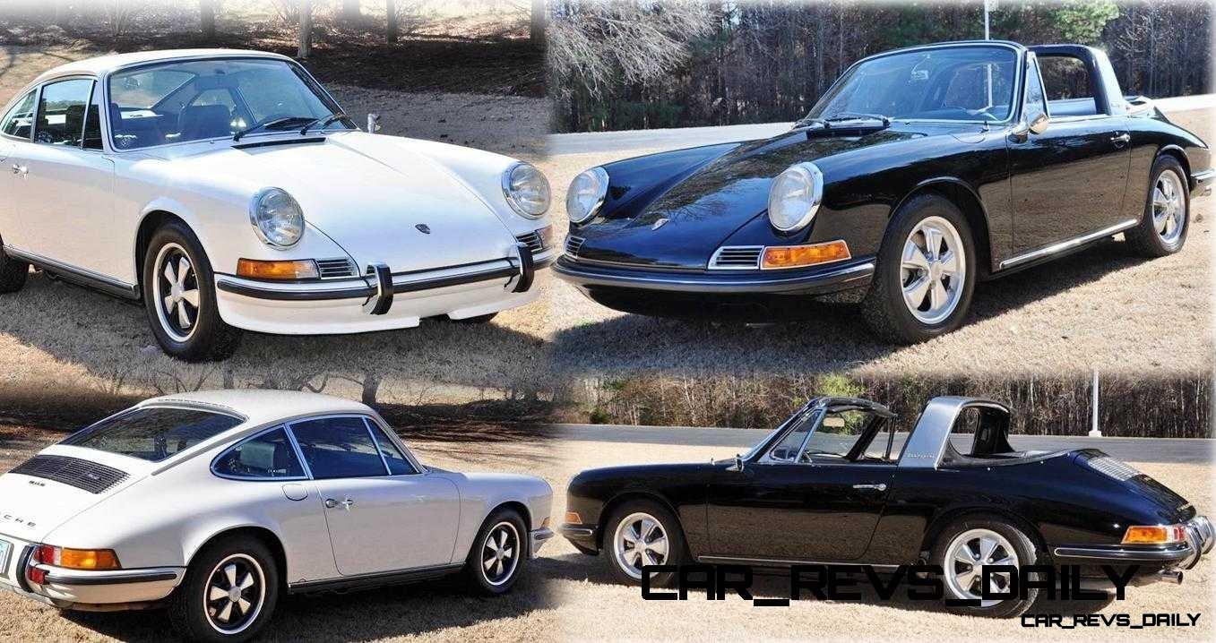 Classic Porsche Face Off - White 1972 911S vs Black 1967 911S Targa
