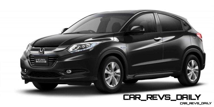 Cool! 2015 Honda Vezel Hybrid Previews Spring 2014 Civic CUV10