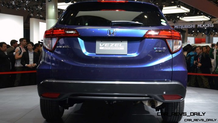 Cool! 2015 Honda Vezel Hybrid Previews Spring 2014 Civic CUV33
