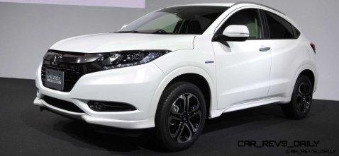 Cool! 2015 Honda Vezel Hybrid Previews Spring 2014 Civic CUV6