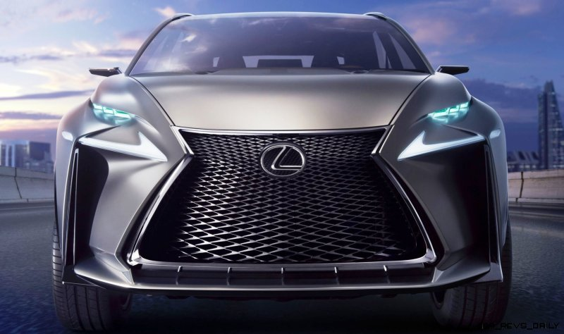 Fascinating LF-NX Turbo Concept Previews Exciting New Surfaces6