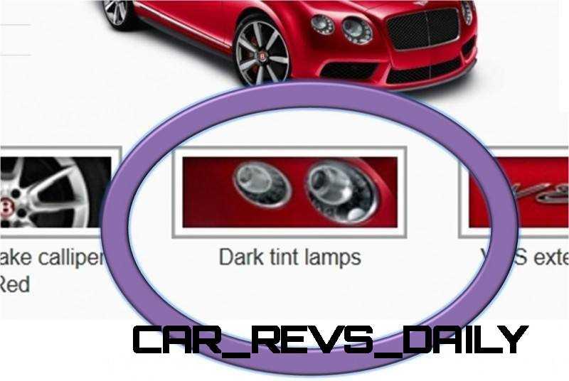 GTC Dark Tinted Lamps