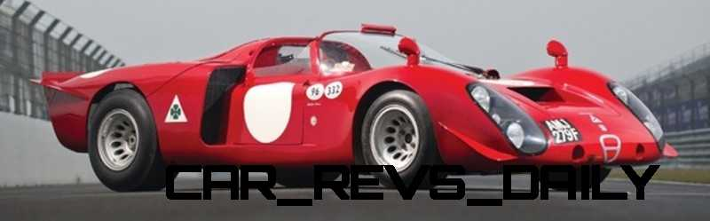 Hero Racecars Alfa-Romeo Tipo 33-2 LeMans and Mugello10