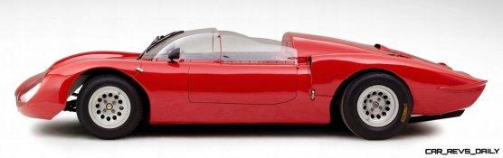 Hero Racecars Alfa-Romeo Tipo 33-2 LeMans and Mugello5