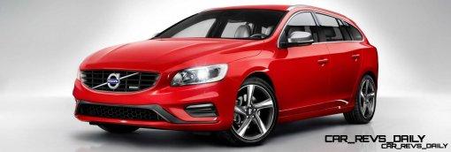 Hot New Wagons 2014 Volvo V60 R-Design 6