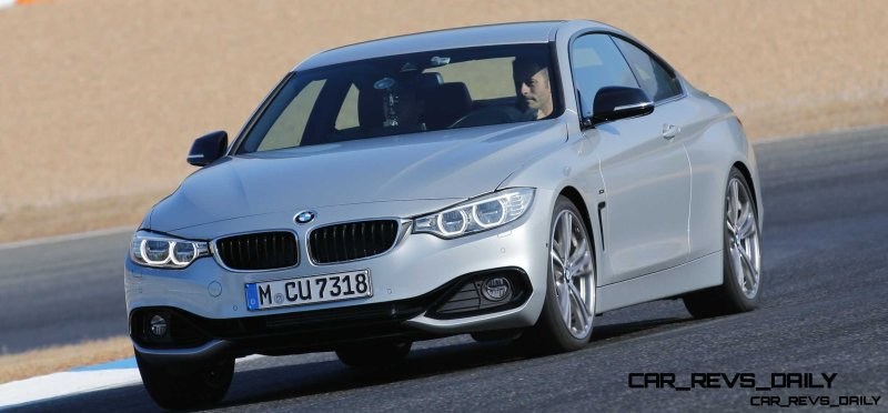 Latest BMW 435i Track Photos Show Beautiful Proportions 12