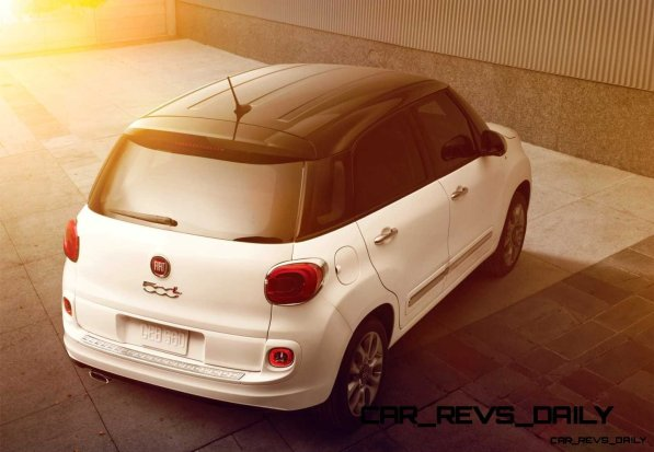 Latest Real-Life Photos Show a Much Cuter 2014 Fiat 500L 28