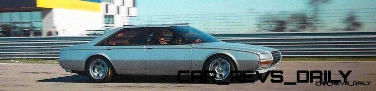 Most Copied 4-Door Never Made - 1980 Ferrari Pinin Concept 20