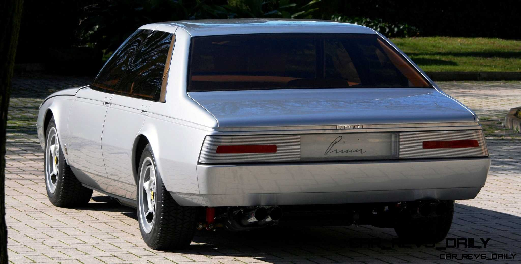 Most Copied 4-Door Never Made - 1980 Ferrari Pinin Concept 29