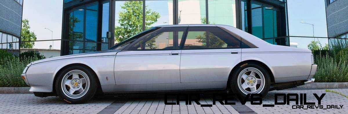 Most Copied 4-Door Never Made - 1980 Ferrari Pinin Concept 5