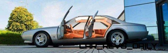 Most Copied 4-Door Never Made - 1980 Ferrari Pinin Concept 9