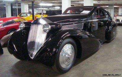 Peterson Auto Museum - 1925 Rolls-Royce Phantom I - 1934 Jonkheere Round Door Aero Coupe 10