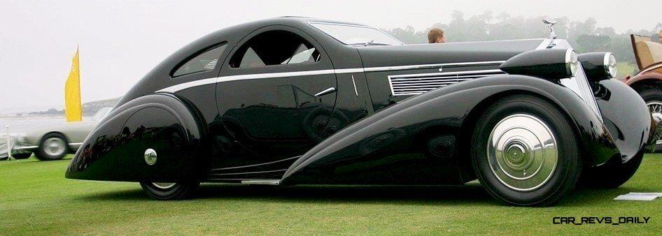 Peterson Auto Museum - 1925 Rolls-Royce Phantom I - 1934 Jonkheere Round Door Aero Coupe 16