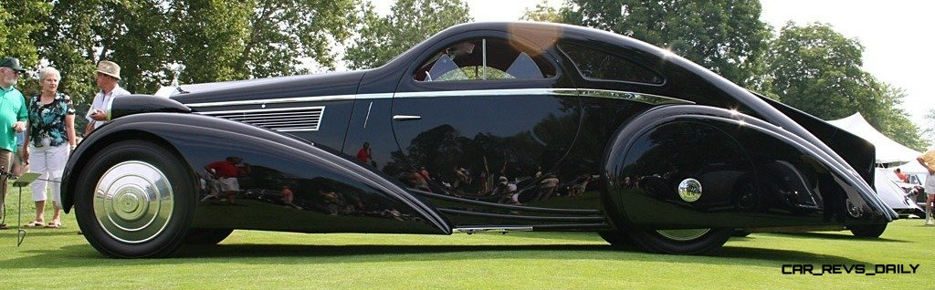 Peterson Auto Museum - 1925 Rolls-Royce Phantom I - 1934 Jonkheere Round Door Aero Coupe 17