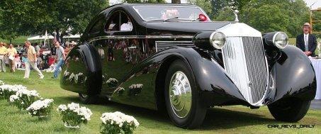Peterson Auto Museum - 1925 Rolls-Royce Phantom I - 1934 Jonkheere Round Door Aero Coupe 19