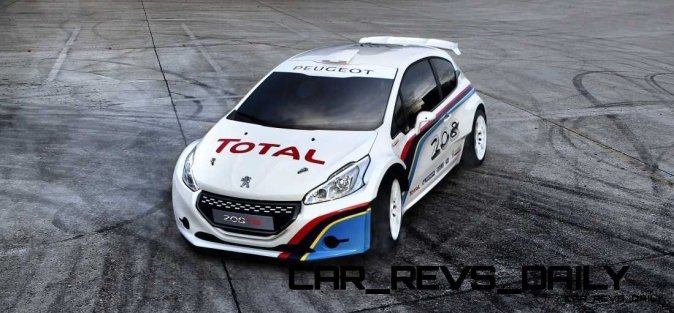 Peugeot 208 T16 and 205 T16 Group B 3