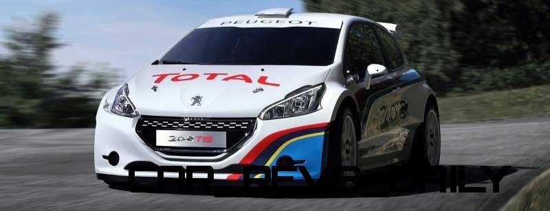 Peugeot 208 T16 and 205 T16 Group B 49