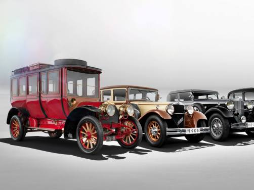 S-Class Retrospective - 1904 to Present 21